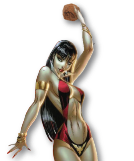 vampirella truffle close
